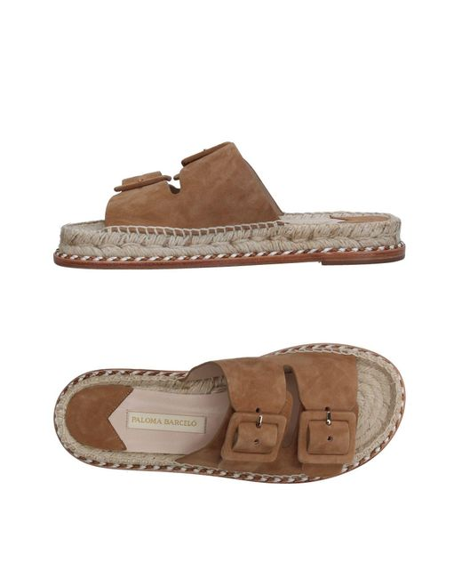 310206b7630 Paloma Barceló - Brown Sandals - Lyst ...