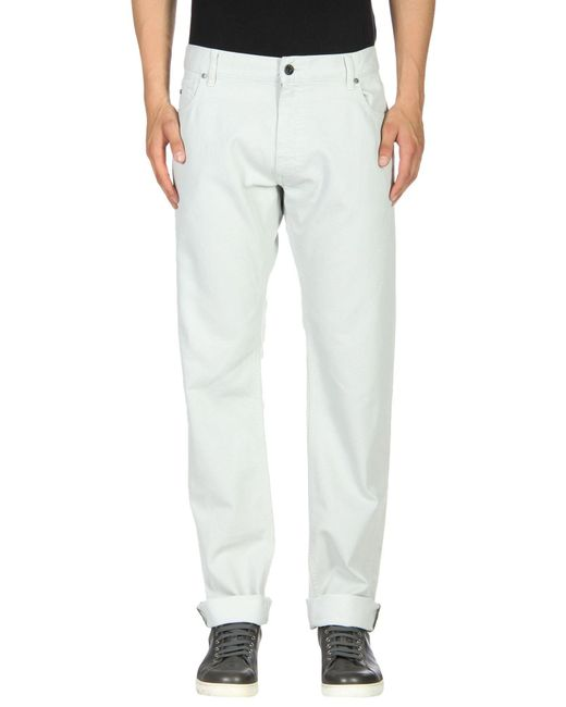 Z Zegna - Gray Denim Pants for Men - Lyst