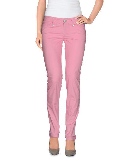 Massimo Rebecchi - Pink Casual Trouser - Lyst