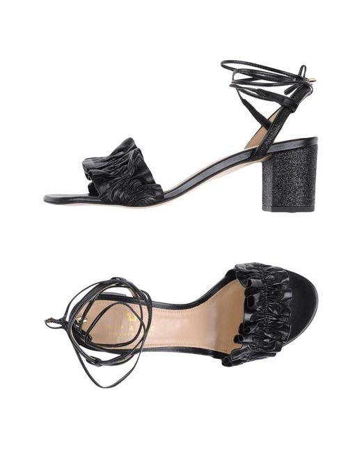 Space Style Concept | Black Sandals | Lyst