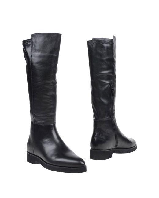 Lola Cruz   Black Boots   Lyst
