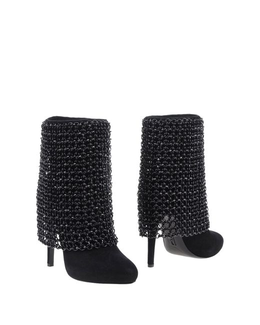 Rodolphe Menudier | Black Ankle Boots | Lyst