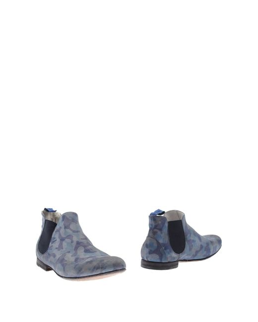 Alberto Guardiani | Blue Ankle Boots for Men | Lyst
