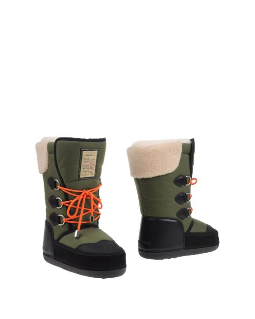 DSquared² | Green Boots for Men | Lyst