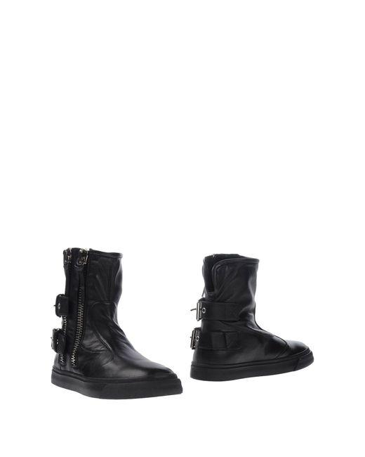 Giuseppe Zanotti   Black Ankle Boots for Men   Lyst