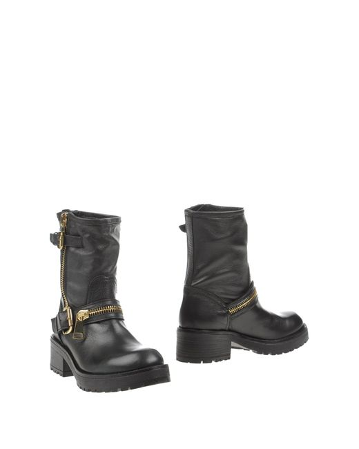 Strategia | Black Ankle Boots | Lyst
