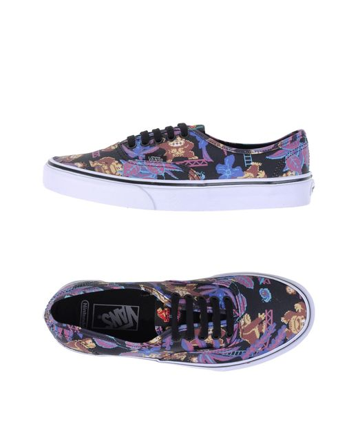 Vans | Black Low-tops & Sneakers | Lyst