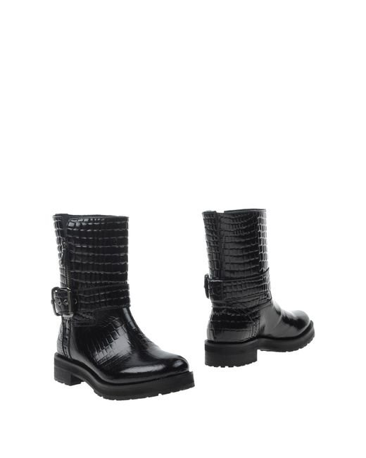 Twin Set | Black Ankle Boots for Men | Lyst