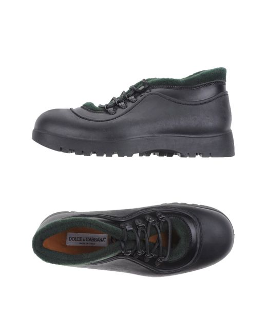 Dolce & Gabbana | Brown Lace-up Shoes for Men | Lyst