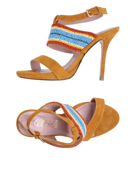 Noiselle By Eh | Multicolor Sandals | Lyst