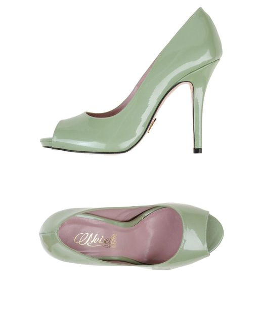 Noiselle By Eh | Green Pump | Lyst