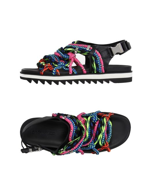 DSquared² | Multicolor Sandals | Lyst