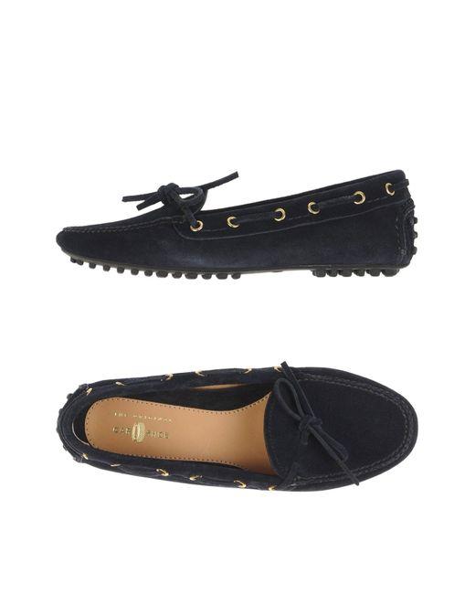 Car Shoe | Blue Loafer | Lyst