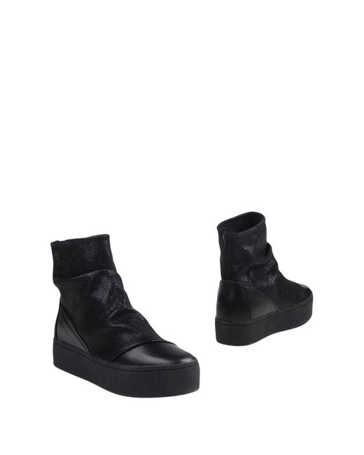 Colors Of California - Black Ankle Boots - Lyst