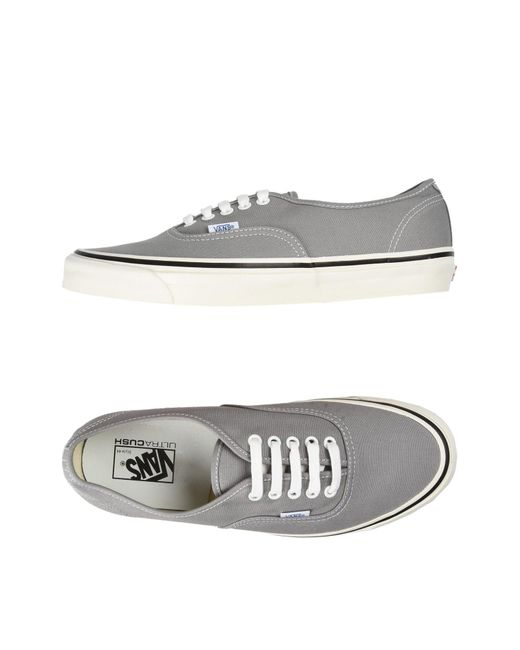 Vans | Gray Low-tops & Sneakers for Men | Lyst