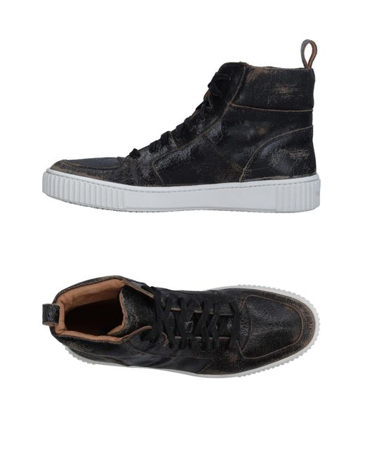 John Varvatos | Black High-tops & Sneakers for Men | Lyst