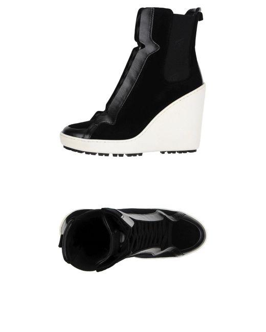Hogan   Black High-tops & Sneakers   Lyst
