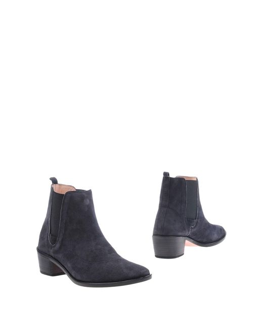 Repetto | Blue Ankle Boots | Lyst
