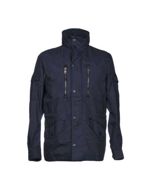 DIESEL - Blue Jacket for Men - Lyst