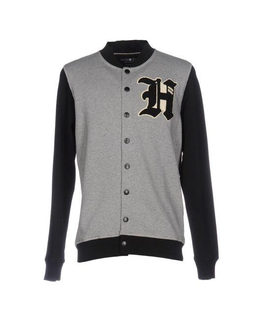 Hydrogen   Gray Sweatshirt for Men   Lyst