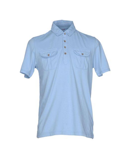 Napapijri | Blue Polo Shirt for Men | Lyst