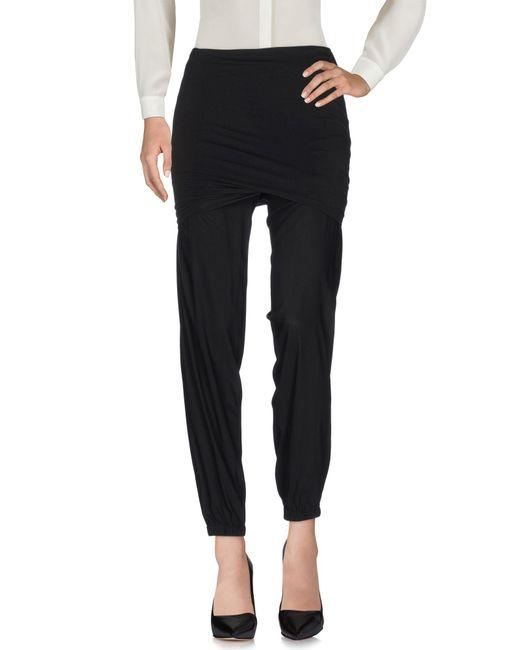 Donna Karan - Black Casual Trouser - Lyst