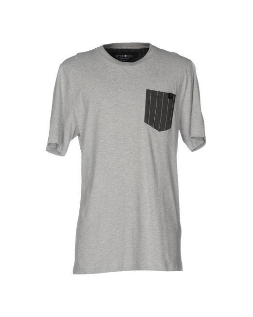 Hydrogen   Gray T-shirt for Men   Lyst