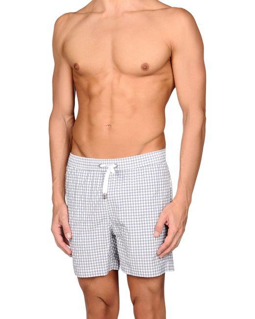 Onia - Gray Swim Trunks for Men - Lyst
