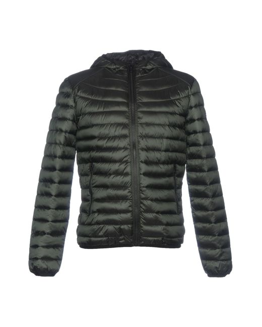 Romeo Gigli - Green Synthetic Down Jackets for Men - Lyst