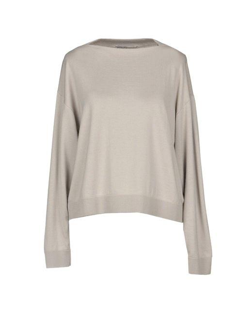 Gentry Portofino - Gray Sweaters - Lyst