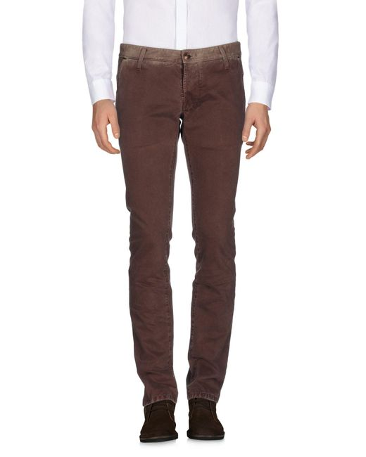 Tejido | Brown Casual Trouser for Men | Lyst