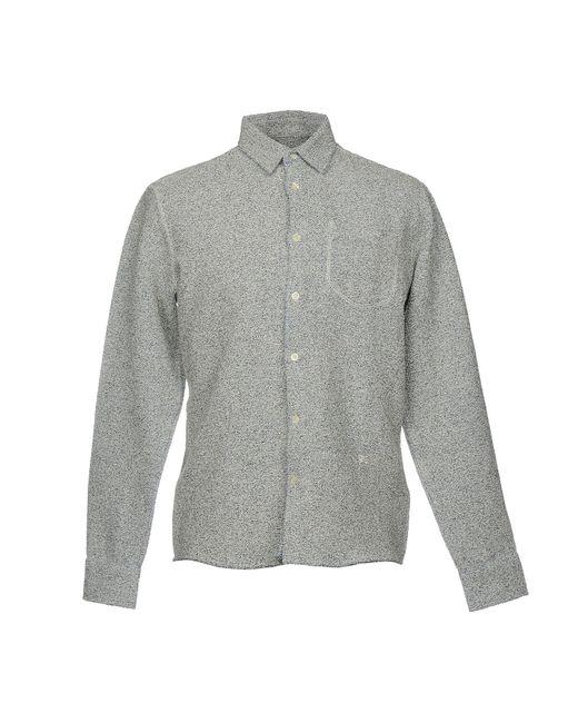 Soulland - Gray Shirt for Men - Lyst