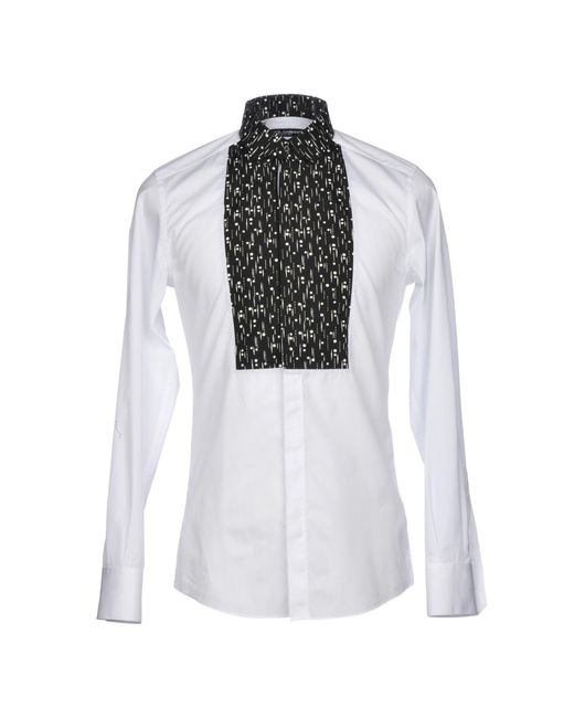 Dolce & Gabbana - White Shirt for Men - Lyst