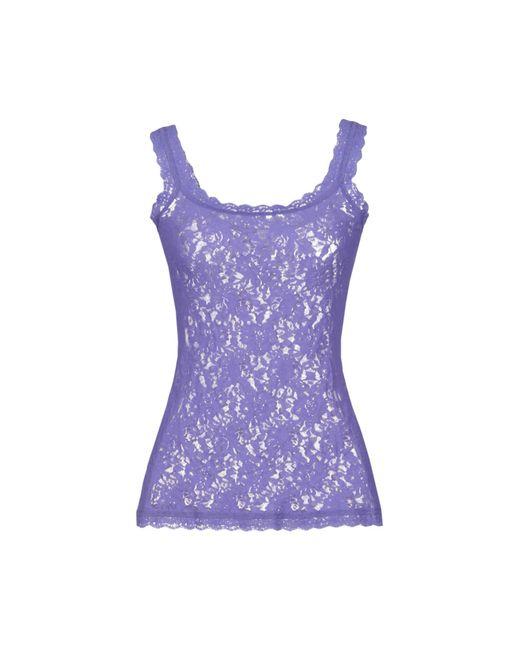Hanky Panky - Purple Sleeveless Undershirt - Lyst