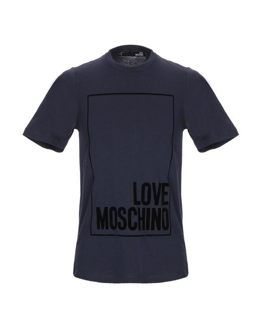 Love Moschino - Blue T-shirt for Men - Lyst