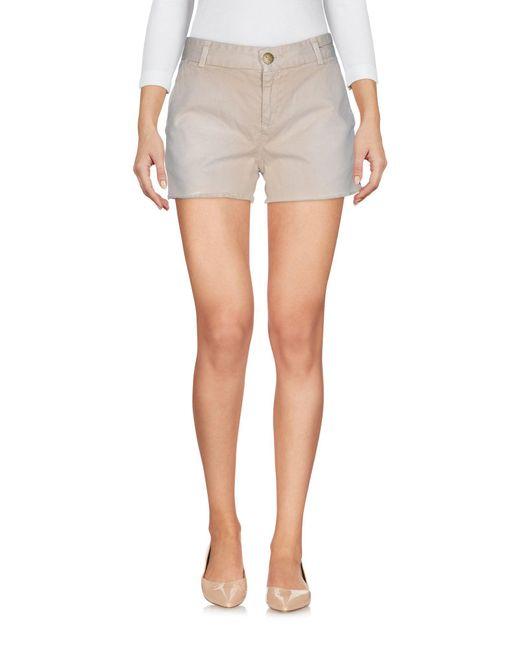 Current/Elliott   Natural Shorts   Lyst