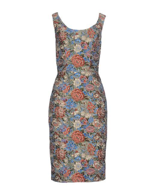 Ermanno Scervino - Blue Knee-length Dress - Lyst