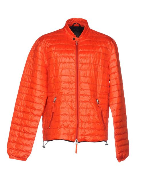 Duvetica - Orange Down Jacket for Men - Lyst