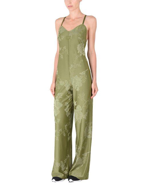 PUMA - Green Jumpsuit - Lyst