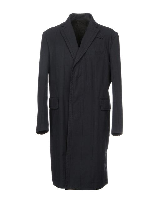 Sacai | Blue Overcoat for Men | Lyst