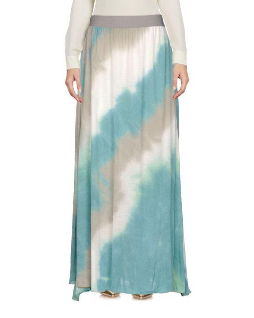 Jijil - Green Long Skirt - Lyst