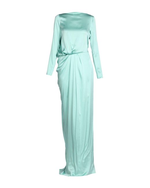 Vionnet - Green Long Dress - Lyst
