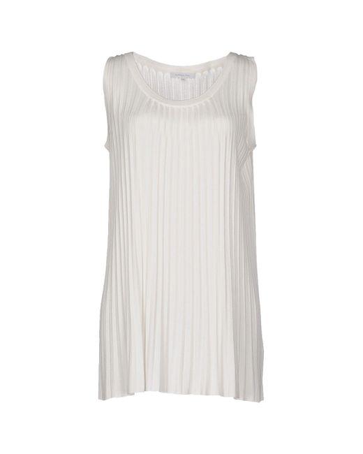 Patrizia Pepe - White Sweater - Lyst