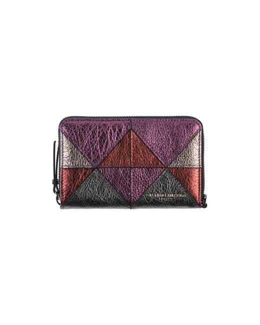 Gianni Chiarini Purple Wallet