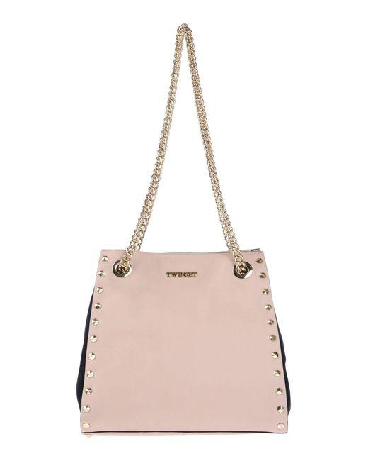 Twin Set - Pink Shoulder Bag - Lyst