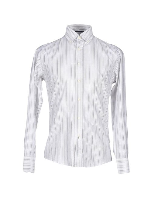 Jeckerson - White Shirt for Men - Lyst