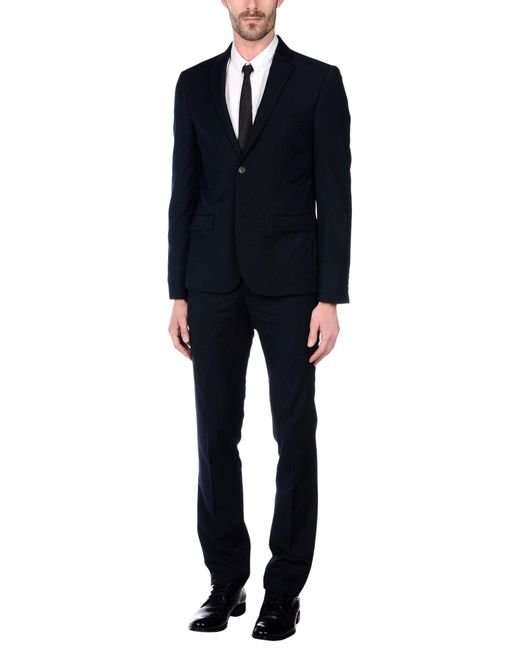 OWEN & JONES - Blue Suit for Men - Lyst