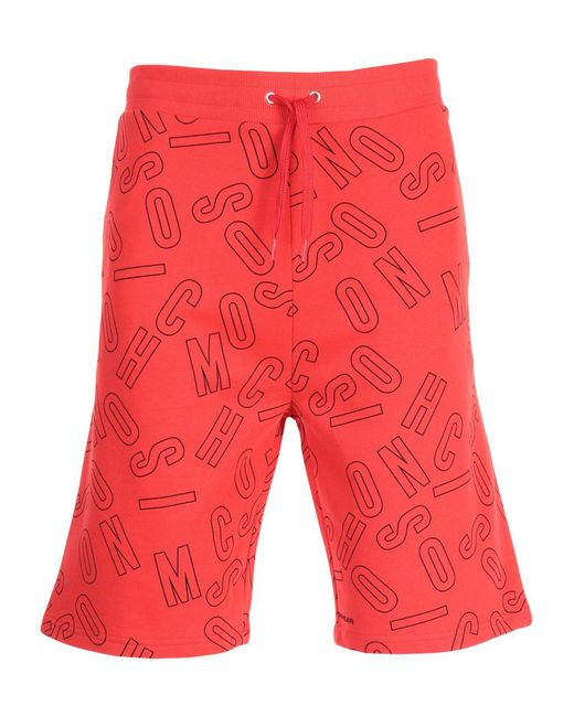 Moschino - Red Sleepwear for Men - Lyst