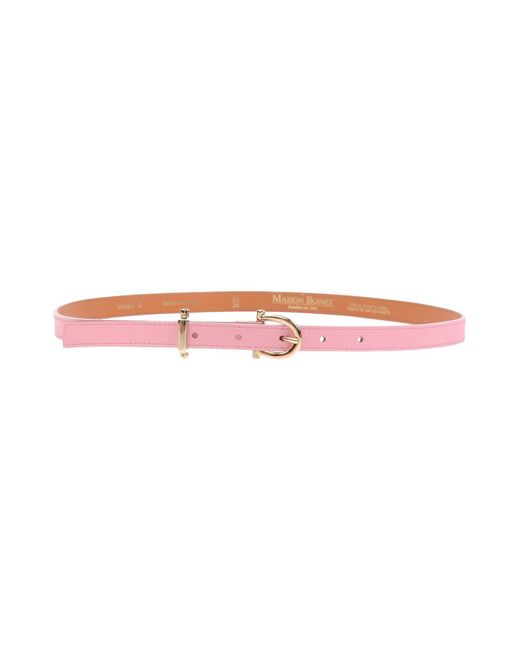 Maison Boinet - Pink Belts - Lyst