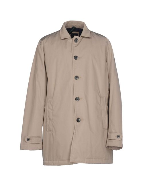 AT.P.CO - Natural Overcoat for Men - Lyst